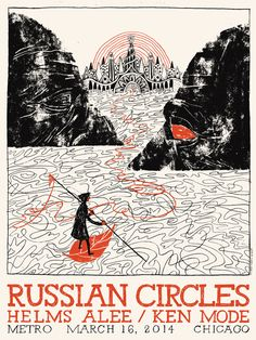 Russian Circles - Les Herman - 2014 ----