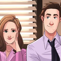Pam and Jim, Arthur França Best Tv Shows, Best Shows Ever, Favorite Tv Shows, Parks N Rec, Parks And Recreation, Office Wallpaper, Iphone Wallpaper, The Office Characters, Office Jokes