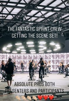 SPRINT 20 filming set Les Mills Sprint, Indoor Cycling, Cycling Workout, Scene, Film, Fitness, Movie, Film Stock, Movies