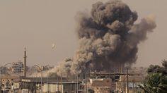 Siria: Nuevo bombardeo de EEUU en Raqa mata a 17 niños y mujeres