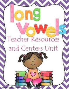 Here is the long vowel edition of my teacher resources literacy building units. Use this along with my short vowel, blends & digraphs and Individual guided reading units for an entire guided literacy program.Each vowel has 8 pictures/words and each is also color coded for easy organizing.Included in this long vowel unit are:Vowel introduction postersVowel critical thinking postersPocket chart pictures and words/headersFluency BookmarksSound ring pictures and wordsMatch word to picture…