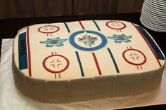 Winnipeg Jets Groom Cake at our wedding!! :)