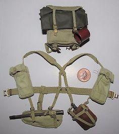WW2 British Army 37 Pattern Belt Repro Soldier Webbing Uniform All Sizes New