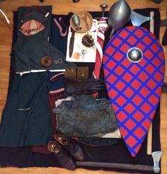 First half 12th century Norman knight kit