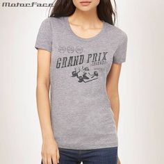 F1 Legends, Grand Prix, Fem , Grey T