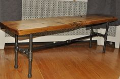 Pipe & Board Bench