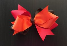 Fall Loop Bows by CreationsByDMPN on Etsy