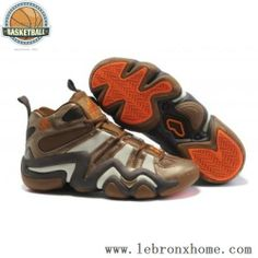 detailed look a0b26 d1759 Adidas Crazy 8 Kobe Bryant Brown Orange Shoes