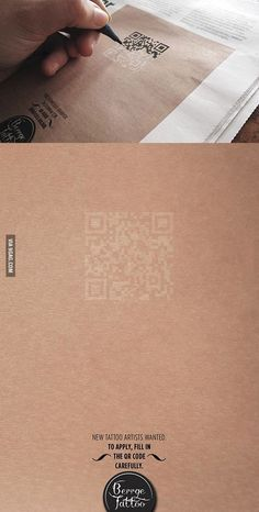 First QR-code I don't hate ...