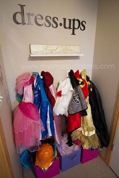 dress-up corner, I need this in my home.