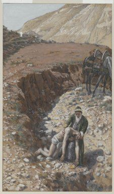 Brooklyn Museum: European Art: The Good Samaritan (Le bon samaritain)