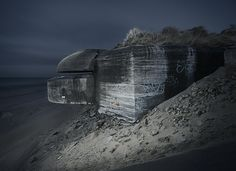 WWII bunker by Jonathan Andrew