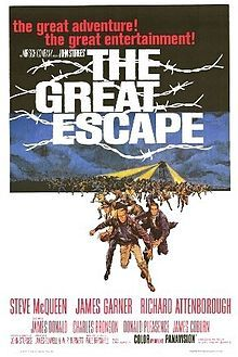 The Great Escape(1963) Steve McQueen, James Garner, Richard Attenborough (original)