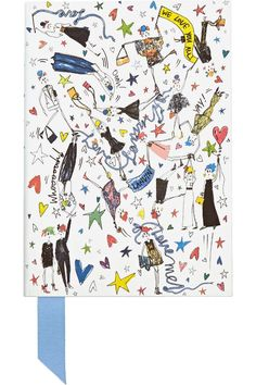 The Best Under $100 Gifts for Cool Girls - Lanvin Printed Notebook, $90; at Net-A-Porter