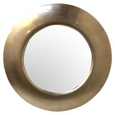 Create a statement feature in your home with this rounded mirror, perfect positioned in your living room or hallway. Product: Mir...