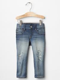 1969 rip & repair skinny jeans