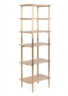 Created by British designer Rob Scarlett exclusively for Heal's, the narrow Crawford Shelving Unit provides the perfect base to display your prized possessions. The contemporary unit boasts six shelves of varying heights crafted from solid blonde Oak Shelving Unit, Oak Shelves, Living Room Storage, Living Room Furniture, Multifunctional Furniture, Light Oak, Industrial Furniture, Furniture Collection, Solid Oak