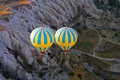 Twin Balloon ride in Cappadocia. Photo by Christian Clausier