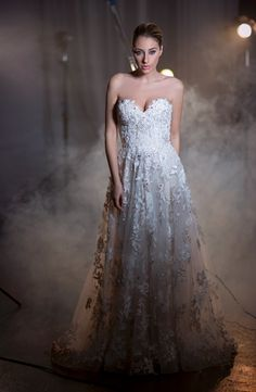 Sweetheart A-Line Wedding Dress  with Natural Waist in Tulle. Bridal Gown Style Number:33369174