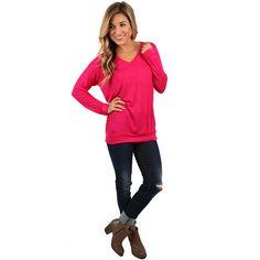 I Adore You Fuchsia | Impressions Online Women's Clothing Boutique