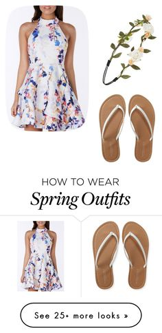 """""""Simple Spring Outfit"""" by nrettura on Polyvore featuring Aéropostale, Forever 21 and Dressunder50"""