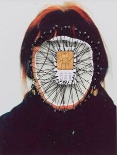 Embroidered Art by Annegret Soltau. Mixed Media Photography, Creative Photography, Art Photography, Photography Sketchbook, Travel Photography, Collage Kunst, Collage Art, Identity Art, Personal Identity