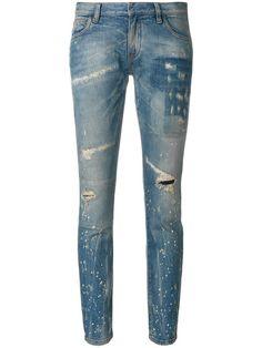 Faith Connexion distressed low cut jeans