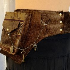 Fancy utility belt -$110.00, via Etsy. Blue Moon Designs..