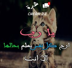 يا رب ارح كل نفس لا يعلم بحلها الا انت | CHERA-DZ