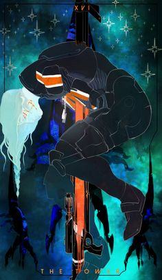 Eris Shepard and her burden #masseffect