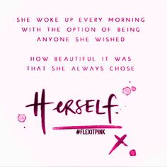 Always be you because being you is BEYOUTIFUL. by flexitpink