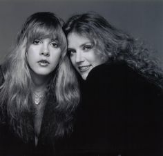 Stevie Nicks with her dearest friend, Robin Snyder Anderson who passed away on October 5, 1982