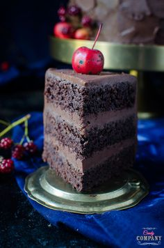 best ever chocolate cake recipe. Food photography by Candy Company