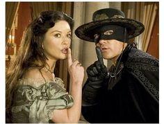 The Legend of Zorro Movie Stills: Catherine Zeta-Jones and Antonio Banderas