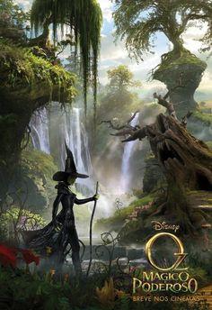 Poster Oz, Mágico e Poderoso___curta ~> http://www.facebook.com/EspalhandoGeek