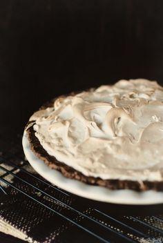 Pumpkin Pie with Brown Sugar Meringue