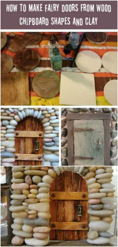 , I love fairy gardens and recently I am really interested in making my own fairy furniture. That& why I asked myself how much of my furniture and . , 25 cute DIY Fairy furniture and accessories for a charming Fairy Garden Diy Fairy Door, Fairy Garden Doors, Fairy Garden Furniture, Fairy Garden Houses, Fairy Doors, House Furniture, Fairies Garden, Furniture Ideas, Gnome Garden