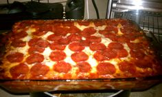 This is a Pizza Casserole that I got courtesy of my pinterest family. My kids loved this and it was very easy to make. I made this the day after Christmas.