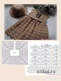 Best 8 Image gallery – Page 307863324526319619 – ArtofitBeautiful dress for girls crochetedRaefa Tamish's media content and analyticsBubble stitch beanie hat knitting pattern by – SkillOfKing. Crochet Dress Girl, Crochet Baby Dress Pattern, Crochet Fabric, Baby Girl Crochet, Crochet Baby Clothes, Crochet Diagram, Crochet Chart, Crochet Motif, Knit Crochet