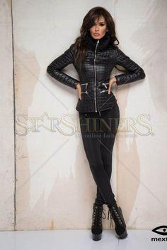 Mexton Fancy Boutique Black Jacket