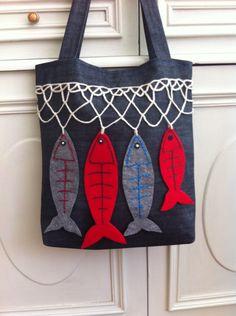 Ağlara takılan balıklar..