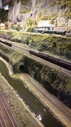 1112 Best Model railroad images in 2019 | Model train layouts, Model