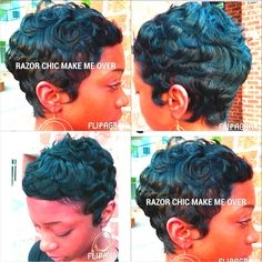 African American hair, short hair, black hair, short hair cut, curls
