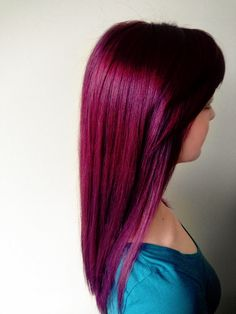Purple Violet Hair Color - Hair by Alexa Shaw
