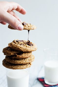 Salted Almond Butter Chocolate Chip Cookies | Community Post: 15 Next-Level Cookies Guaranteed To Make You Drool