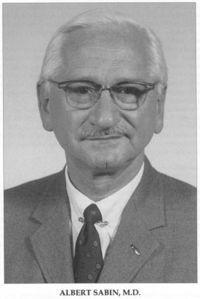 Albert Sabin – Wikipédia, a enciclopédia livre