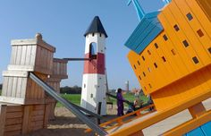 Some of the most fantastic playground equipment I have ever seen!