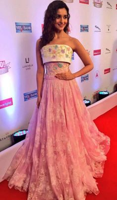 Alia Bhatt in a Georges Chakra gown