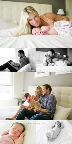 Lifestyle Newborn Photography | Sara Garcia Photo Art