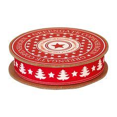 GreenGate Ribbon Tree Red 16 mm x 5 m | NEW! GreenGate Autumn/Winter 2014 | Originated-Shop